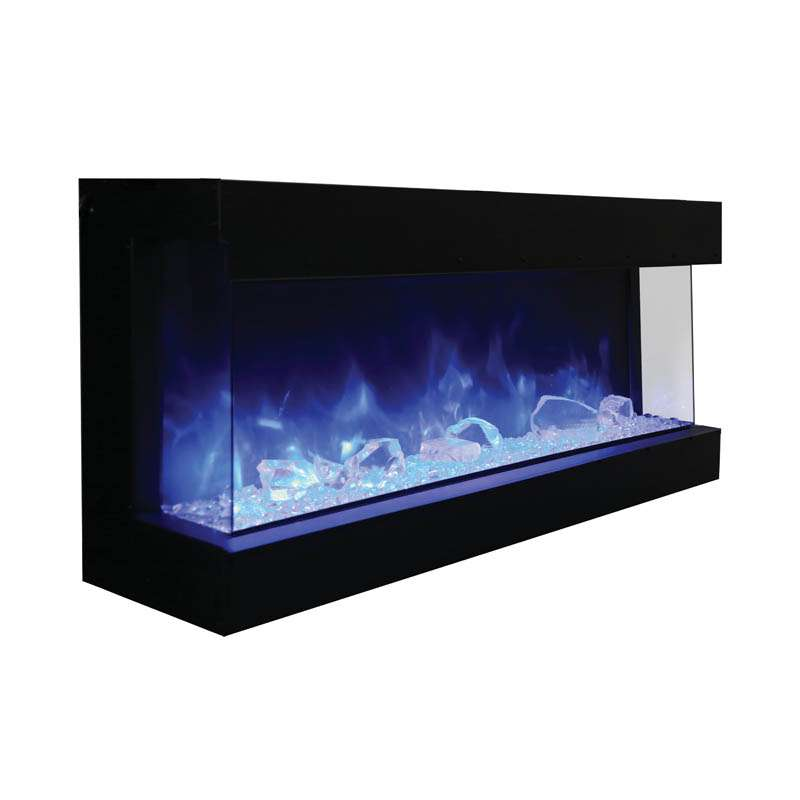 Tru View 60 3 sided glass electric fireplace
