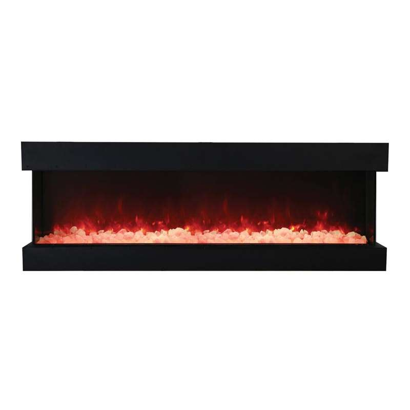 Tru View 72 3 sided glass electric fireplace
