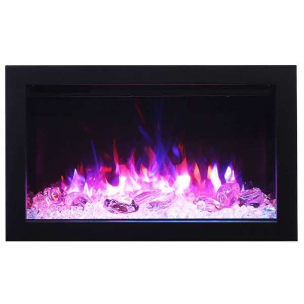 30 Electric Fireplace with Large View