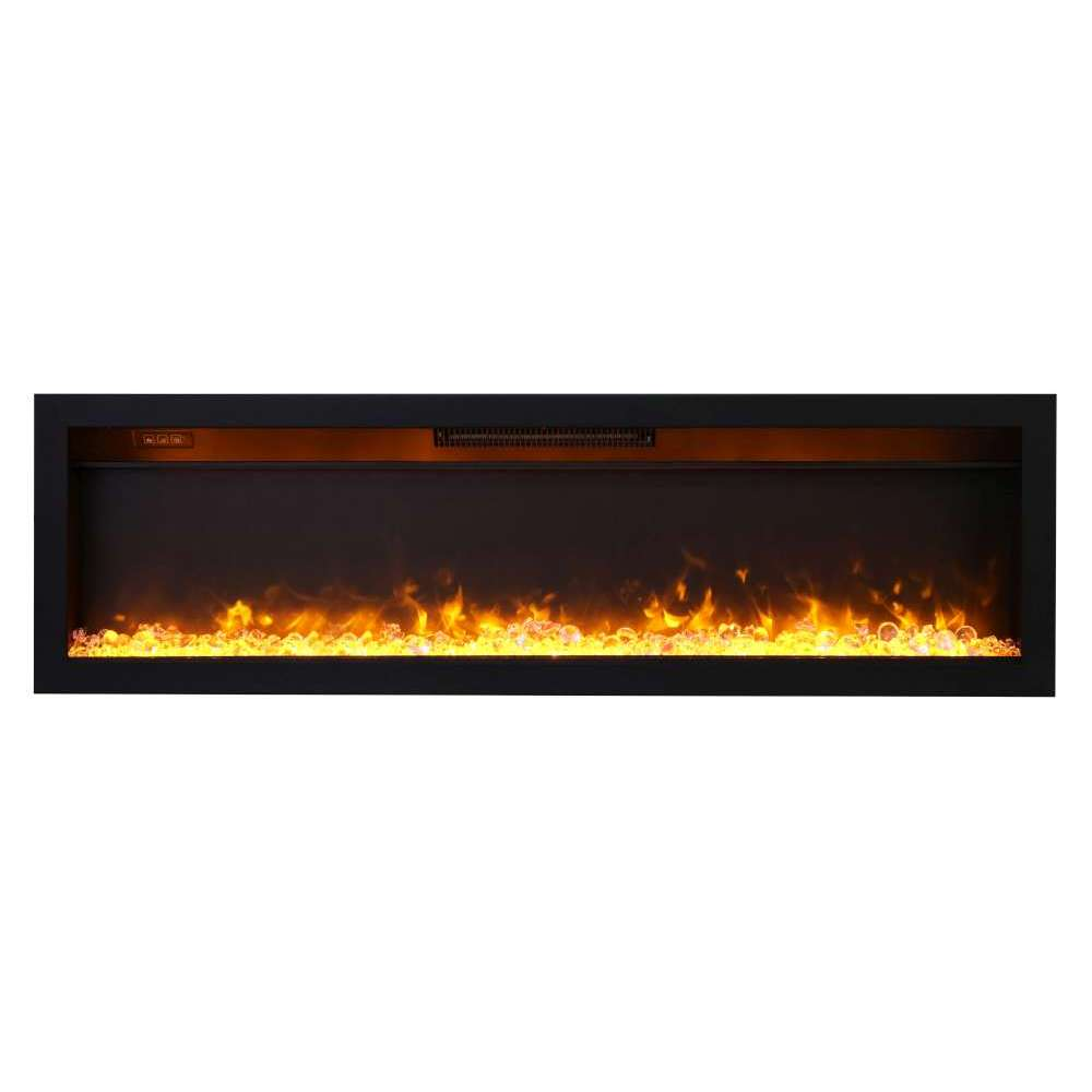 Ambiance 60-inch In Wall Electric Fireplace