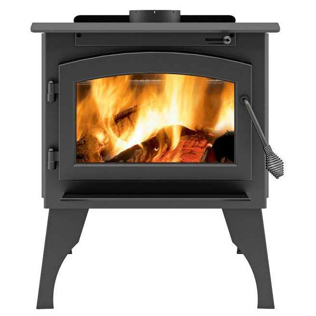 Ambiance Outlander 15 Wood Stove on legs