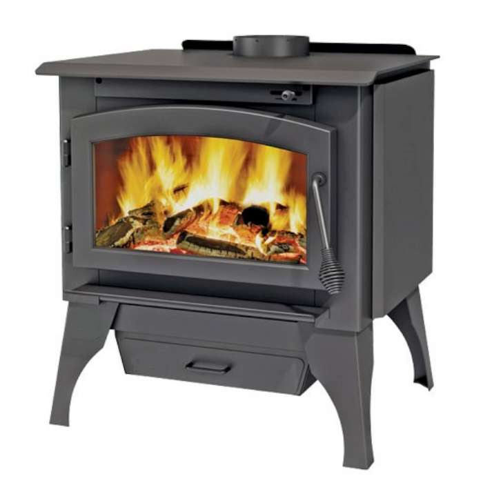 Ambiance Outlander 15 Wood Stove on legs with Ash Pan