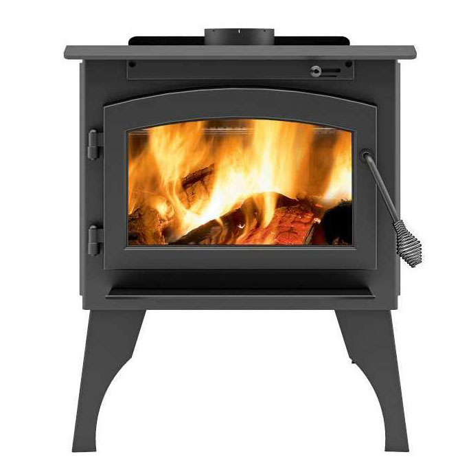 Ambiance Outlander 19 Wood Stove on legs
