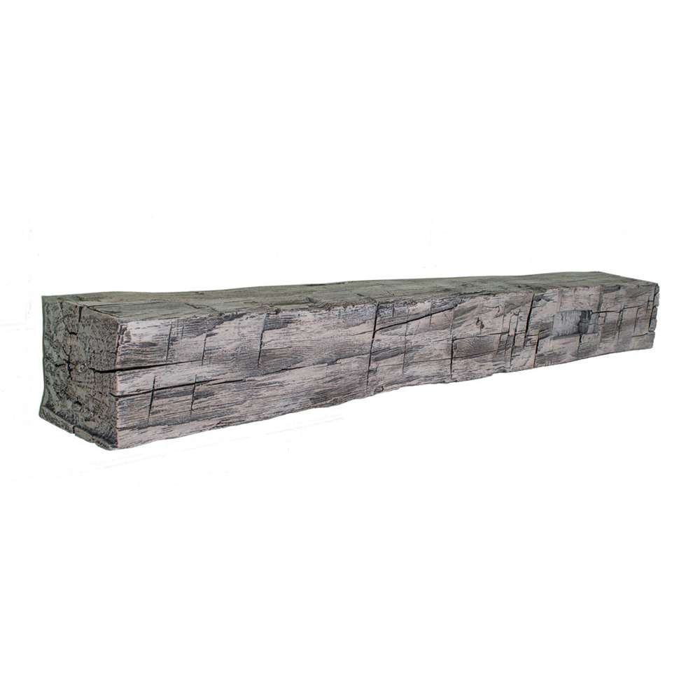 Ambiance Hewn Mortise Beam 60 - Storm Grey