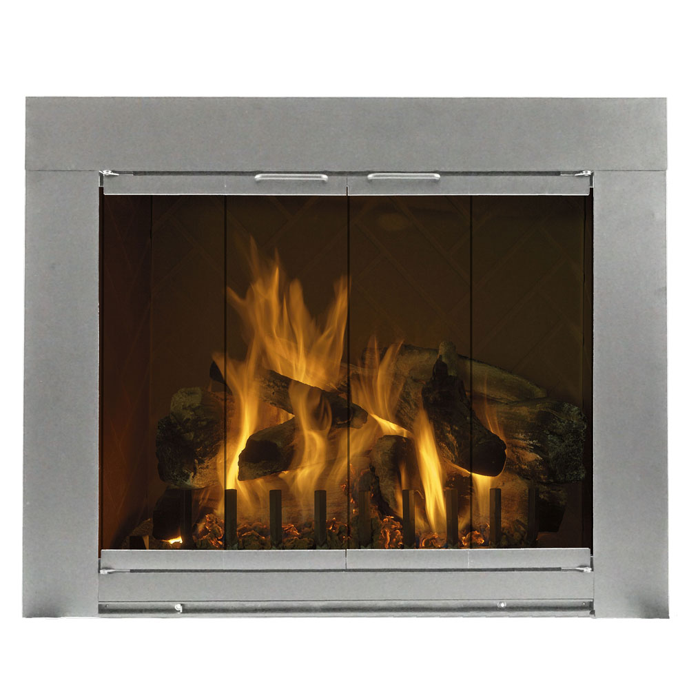 45'' x 34'' Grande Fireplace Glass Door