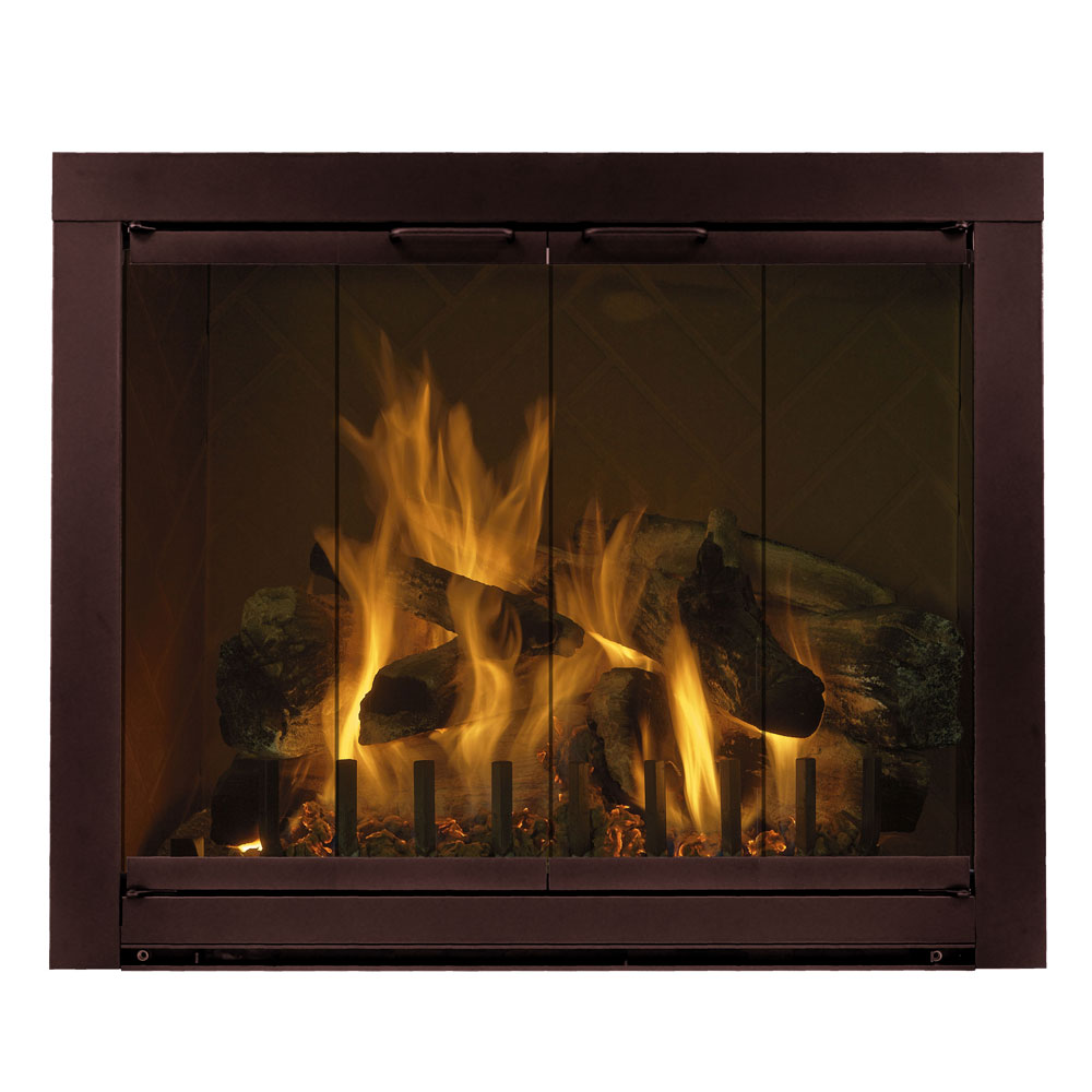 34'' x 25'' Piccolo Fireplace Glass Door