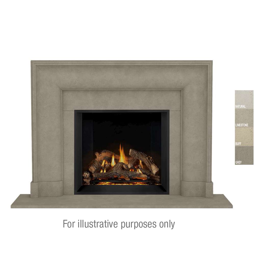 New Yorker Open cast Mantel Gray Color