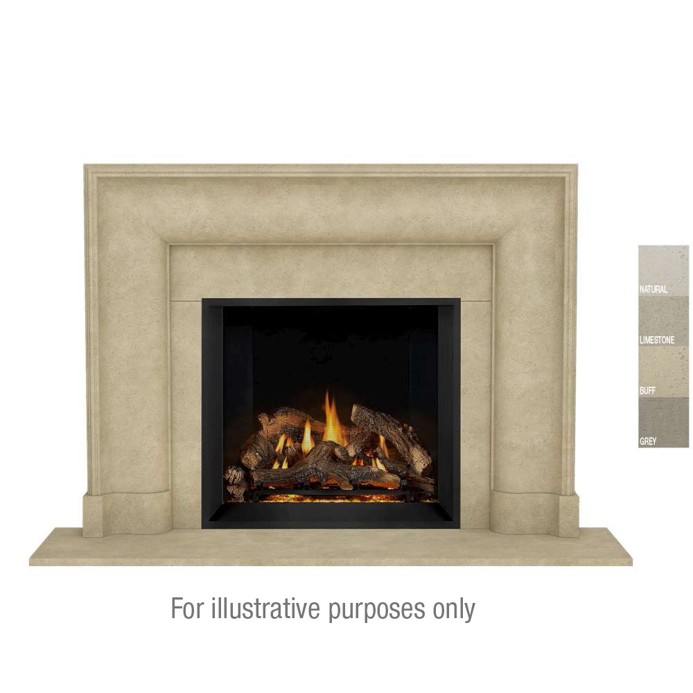 New Yorker Open cast Mantel Buff Color