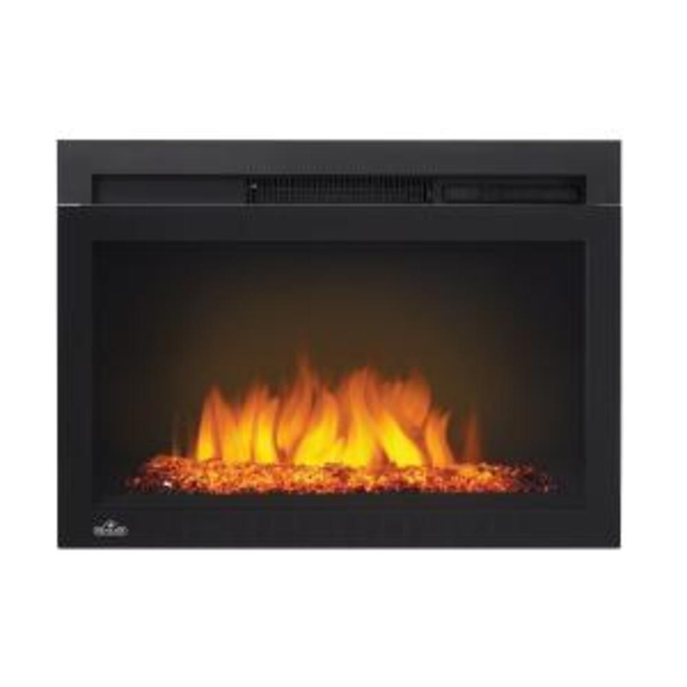 Cinema™ Glass 24 Built-in Electric Fireplace