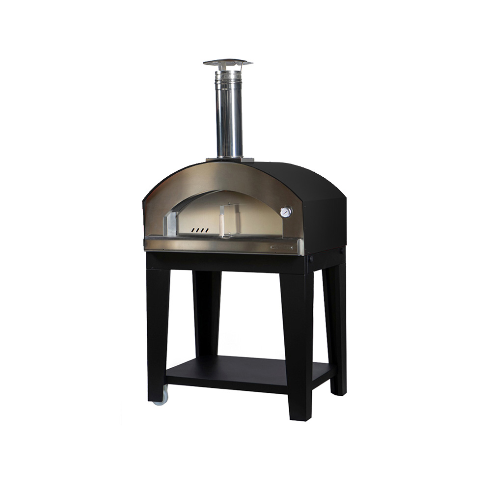 Medium Pizza Oven Black Gas Fired Nonna Luisa