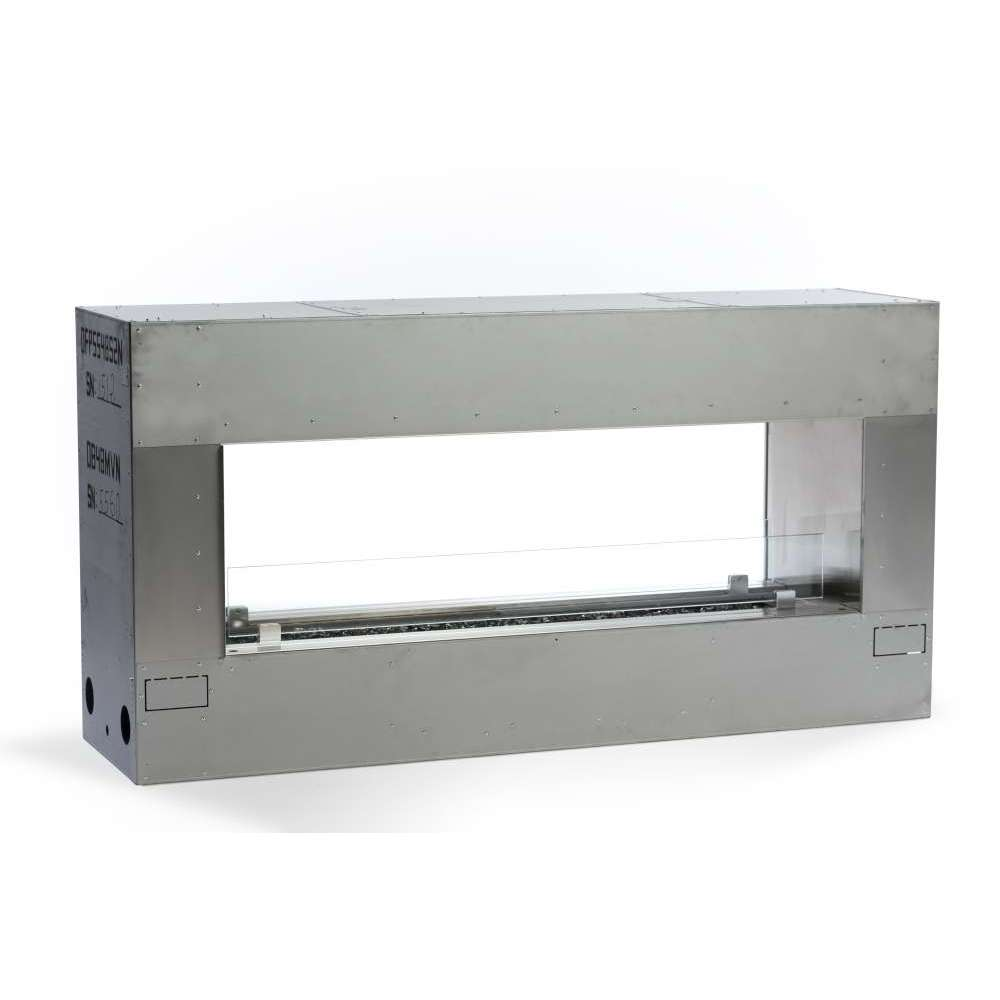 Outdoor Linear Fireplace - 72 Burner - Natural Gas -  See Through