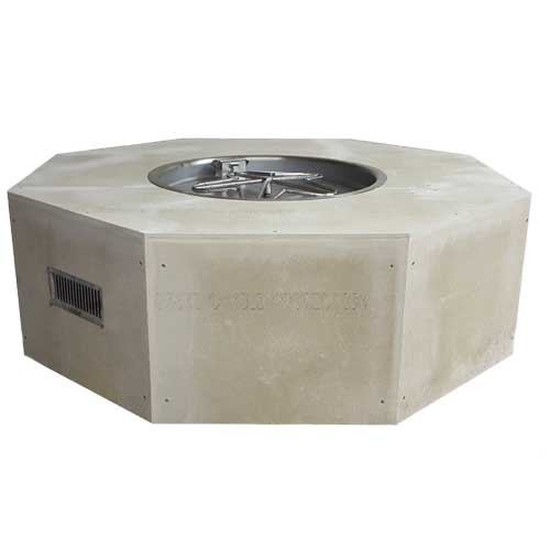 HPC Fire 54'' Octagon Enclosure with 25-inch electronic Ignition Penta Burner
